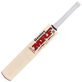 Mrf Kashmir Willow Cream Colour Player Cricket Bat Sh