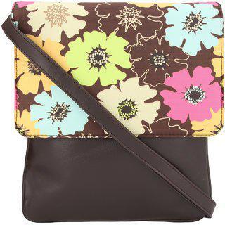 Vivinkaa Brown Sling Bag