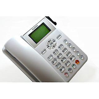 Ets3125i Wireless Phone Gsm Sim Card Based Walky Phone With Gsm Sim Facility With One Battery Free With It.