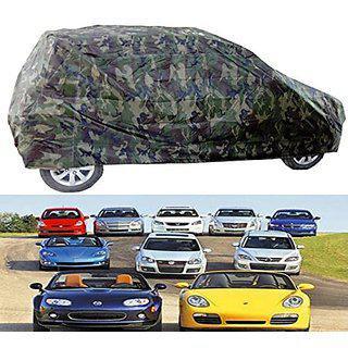 Benjoy Car Body Cover Miltery Print For Tata Manza
