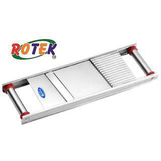 Rotek Stainless Steel Vegetable Slicer Long 2 In 1