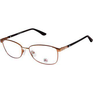 David Blake Brown Full Rim Oval Women Spectacle Frame