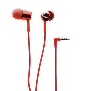 Sony Mdr-ex155ap Headphone Red