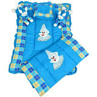 Comfortable Baby Bedding Set Blue Maple Krafts