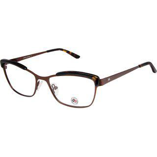 David Blake Brown Full Rim Cat-eye Women's Spectacle Frame