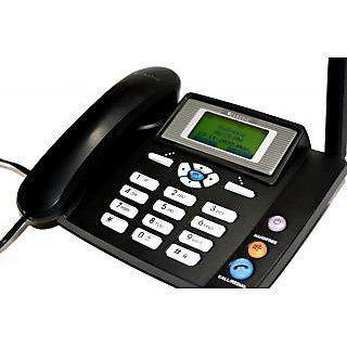 2208 Landline Phone By Uvaa Working With Cdma Sim Bsnl.