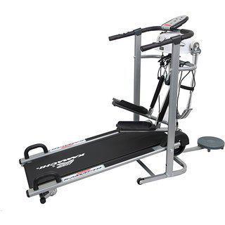 Kamachi 6 In 1 Manual Treadmill Home Jogger