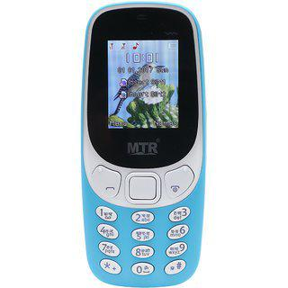 Mtr Mt3310 Dual Sim Mobile Phone In Sky Blue Color
