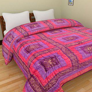 Shopping Store Double Bed Size Jaipuri Pure Cotton Quilt Razai Hand Block Printed Winter Quilt/ Comforter/razai Jaipuri Razai Blanket Dohar