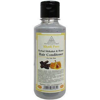 Khadi Pure Herbal Shikakai Honey Hair Conditioner - 210ml