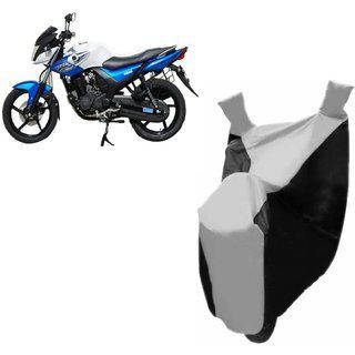 Kaaz Premium Silver With Black Bike Body Cover For Yamaha Yzf R15 S