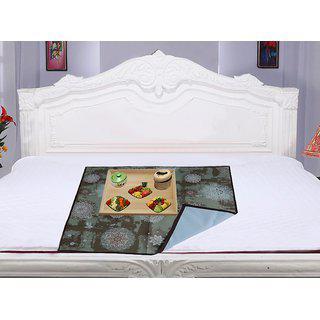 Kuber Industries Bed Server/food Mat/bedsheet Protector In 3 Layered Heavy Material (waterproof) K01