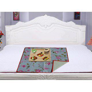 Kuber Industries Bed Server/food Mat/bedsheet Protector In 3 Layered Heavy Material (waterproof) K03