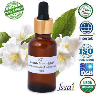 Ancient Healer 100 % Natural Jasmine Grand Essential Oil 30 Ml