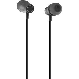 Ambrane Extra Bass Headset Ep-11 With Mic(black)
