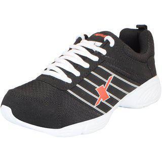 Sparx Men's Black White Mesh Running/walking/training/gym Shoes