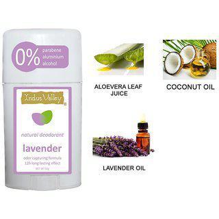 0 Parabene Aluminium Alcohol Natural Lavender Deodorant 50ml