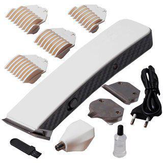 Kemei Electric Cordless Rechargeable Beard Mustache Hair Clipper Trimmer -86