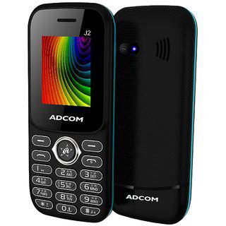 Adcom J2 (1.8 Inch Display 1500 Mah Battery Fm Radio Made In India)