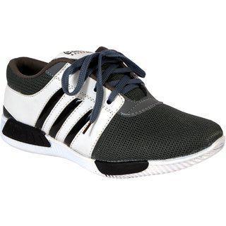 Shoebook Mens Smart Casuals Shoes Gray