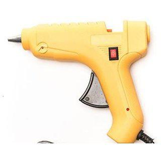 Imstar Electric Cord Glue Gun Yellow 40 W 40 Watt With On/off Switch plus 2 Glue Stick Free
