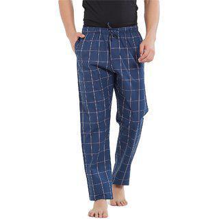 Xyxx Men's Pyjama Bottom (xypyjm09s3747_pink Checks)