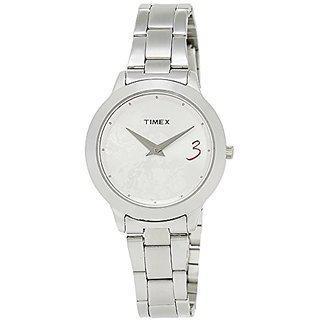 Timex Fashion Analog Silver Dial Womens Watch - Ti000t60000