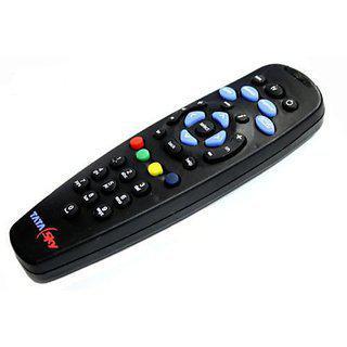 Universal Tata Sky Remote Compatible (black)