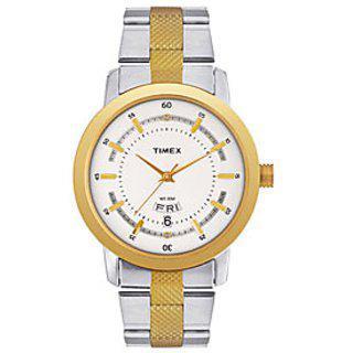 Timex Quartz Silver Round Men Watch G910