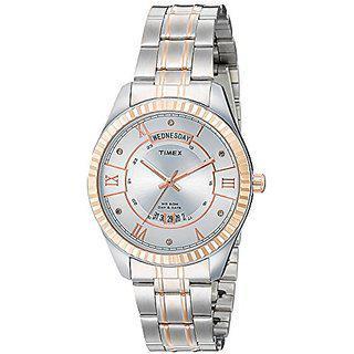 Timex Quartz Silver Round Men Watch Tw0tg6205