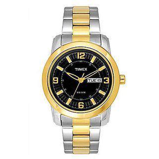 Timex Quartz Black Dial Mens Watch-tweg15306