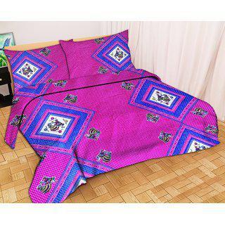 3d Jaipuri Print Bedsheet With Jaipuri Pillow