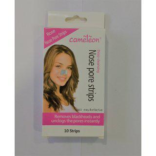 Blushia Cameleon Nose Strips Wax Strips For 10 Pcs