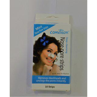 Cameleon Nose Strips In Mint( Quick Easy Effective ) - 10 Strips