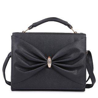 Elprine Elegant Designer Black Sling Bag For Women And Hand Shoulder Bag For Girls