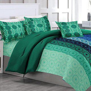 Elegance Cotton Double Bed Sheet With 2 Pillow Covers 223