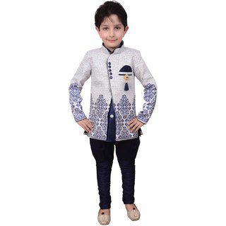 Arshia Fashions Boys Indo Western Set