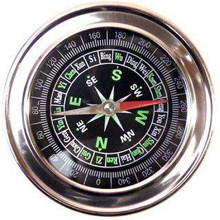 Jm Jumbo Military Magnetic Compass Fengshui Hiking Camping - 03