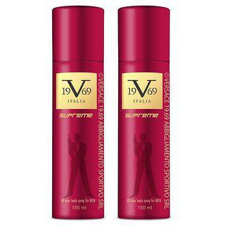 Versace Deo Supreme On (pack Of 2 )