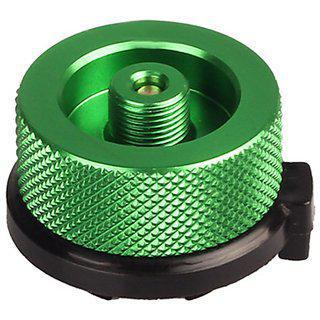 Futaba Stove Connector Gas Bottle Adaptor Burner - Green