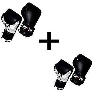 Prospo 12 Oz Training And Fighting Boxing Gloves (syenthetic Leather) (pack Of Two)