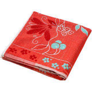 Valtellina 100% Cotton Red 1 Bath Towel
