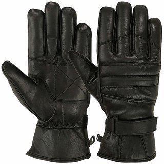 G-mtin Full Finger Leather Gloves Men Winter Cycling Riding