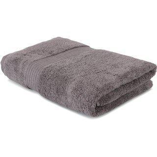 Dark Shine Premium Cotton Dark Brown Bath Towel Set Of 1