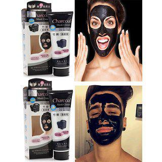 Pack Of 2 Charcoal Face Mask