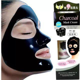 Bamboo Activated Charcoal Anti-blackhead Acne Deep Cleansing Suction Mask