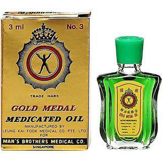 Gold Medal Medicated Oil - 3ml (pack Of 6)