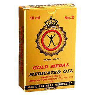 Gold Medal Medicated Oil - 10ml (pack Of 3)
