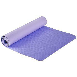 Spinway Washable & Anti-skid Yoga Mat With Cover Bag - 6mm | Purple