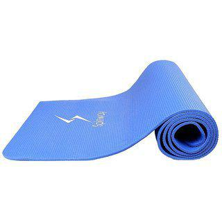Spinway Blue Anti-skid Yoga Mat 6 Mm With Cover Bag